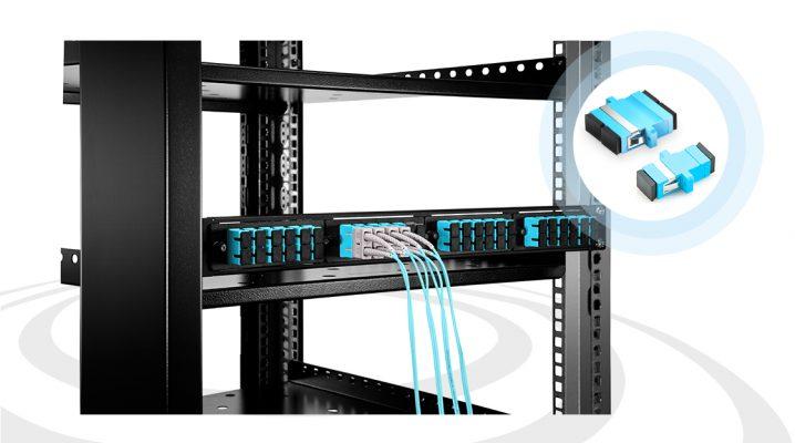 آداپتورها فاصله بین اتصالات فیبر نوری را پر می کنند