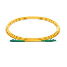 LC APC to LC APC Simplex-fiberoptic