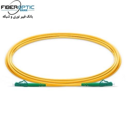 پچ کورد فیبر نوری Lc-to-Lc-سیمپلکس سینگل مود-APC