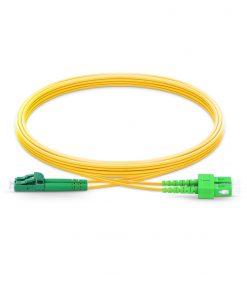 LC-SC Singlemode Fiber Optic Cable Duplex