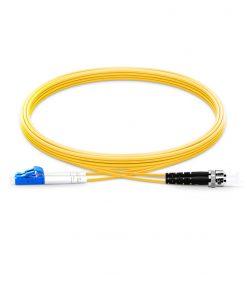 LC-ST Singlemode Fiber Optic Cable Duplex