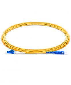 LC UPC to SC UPC Simplex-fiberoptic