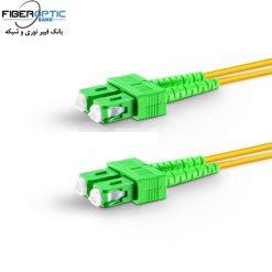 SC SC APC DUPLEX FIBEROPTICBANK 247x247 - پچ کورد فیبر نوری SC-SC /APC ، سینگل مود، Duplex، روکش PVC، قطر ۲mm