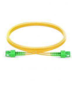 SC-SC Singlemode Fiber Optic Cable Duplex