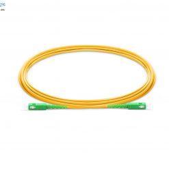 SC to SC APC Simplex-fiberoptic