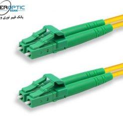 SM DU LC LC APC FIBEROPTICBANK 247x247 - پچ کورد فیبر نوری LC-LC /APC ، سینگل مود، Duplex، روکش PVC، قطر ۲mm