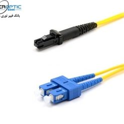sc mtrj duplex sm patchcable fiberopticbank 247x247 - پچ کورد فیبر نوری، سینگل مود، SC-MTRJ/UPC, Duplex، روکش PVC، قطر 2mm، برند CITYCOM