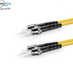 st st sm duplex fiberopticbank 247x247 - پچ کورد فیبر نوری ST-ST /UPC ، سینگل مود،  Duplex، روکش PVC، قطر ۲mm