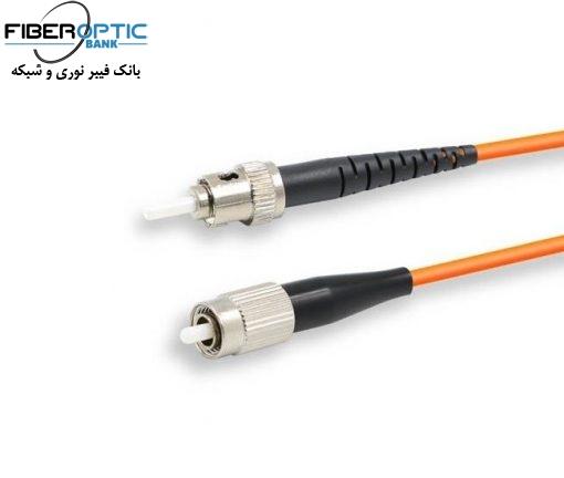 FC ST MM SIMPLEX FIBREOPTICBANK 510x432 - پچ کورد فیبر نوری ST-FC /UPC ، مالتی مود، Simplex، روکش PVC، قطر ۲mm
