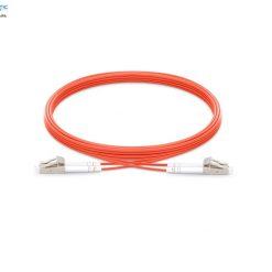 LC LC MM duplex fiberopticbank 247x247 - پچ کورد فیبر نوری LC-LC /UPC ، مالتی مود، OM2 , Duplex، روکش PVC، قطر ۲mm