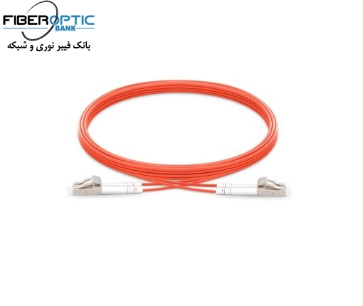 LC LC MM duplex fiberopticbank 510x430 - پچ کورد فیبر نوری LC-LC /UPC ، مالتی مود، OM2 , Duplex، روکش PVC، قطر 3mm