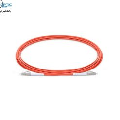 LC LC Multimode Fiber Optic Patch Cable Simplex fiberopticbank  247x247 - پچ کورد فیبر نوری LC-LC /UPC ، مالتی مود،  Simplex، روکش PVC، قطر ۲mm
