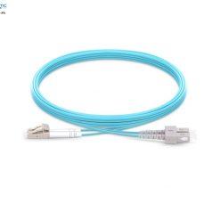SC LC MM Duplex OM3 fiberopticbank 247x247 - پچ کورد فیبر نوری SC-LC /UPC ، مالتی مود، OM3 , Duplex، روکش LSZH، قطر ۲mm