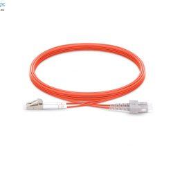 SC LC MM duplex om2 fiberopticbank 247x247 - پچ کورد فیبر نوری SC-LC /UPC ، مالتی مود، ,OM2 , Duplex، روکش PVC، قطر 3mm