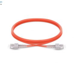 SC SC mm Duplex fiberopticbank 247x247 - پچ کورد فیبر نوری SC-SC /UPC ، مالتی مود، Duplex، روکش LSZH، قطر 2mm