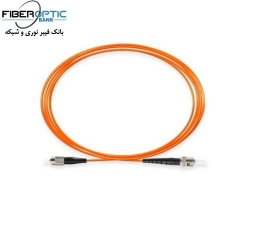St fc MM simple fiberopticbank 510x450 - پچ کورد فیبر نوری ST-FC /UPC ، مالتی مود، Simplex، روکش PVC، قطر ۲mm