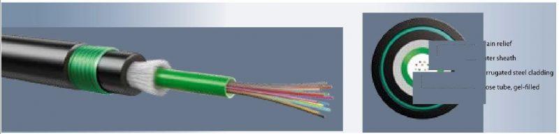 کابل فیبر نوری ۱۲ کور LEONI