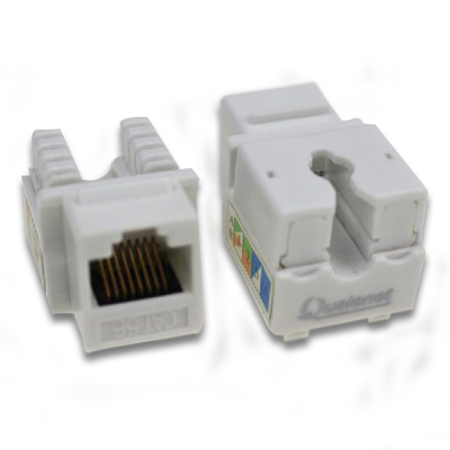 کیستون شبکه CAT5e UTP Qualenet ، زاویه 90