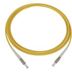DIN DIN SX 247x247 - پچ کورد فیبر نوری DIN-DIN /PC ، سینگل مود، Simplex، روکش PVC، قطر 3mm