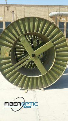 کابل فیبر نوری 144 کور کانالی شهید قندی،(12*12)، سینگل مد ، OCUC