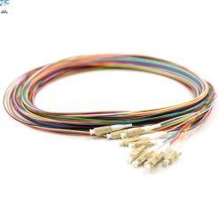 lc mm 12core pigtail fiberopticbank e1565785043472 247x247 - پیگتیل فیبر نوری LC/UPC ، مالتی مود، 12Core, OM2، روکش PVC، قطر 0.9mm