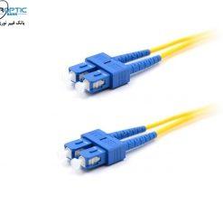 sc sc duplex SM FIBEROPTICBANK 247x247 - پچ کورد فیبر نوری SC-SC /UPC ، سینگل مود، Duplex، روکش LSZH، قطر 2mm