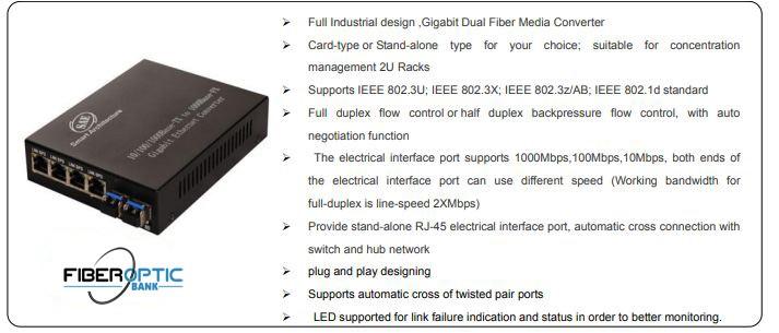 مشخصات مدیاکانورتور SAE-400G20-PV