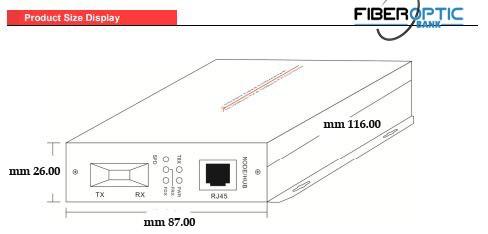 """اندازه خارجی مدیا کانورتر [caption id=""""attachment_4817"""" align=""""alignnone"""" width=""""536""""] مشخصات فنی SAE-100SSC -20[/caption]"""