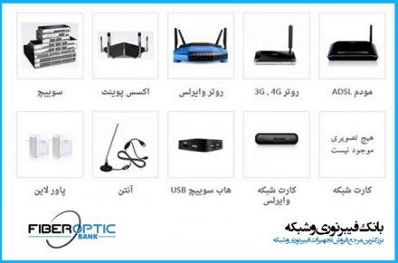 تجهیزات شبکه اکتیو