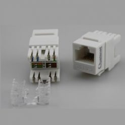 CAT 5E UTP KEYSTONE JACK Qualenet 247x247 - کیستون شبکه CAT6 FTP Qualenet ، زاویه 180