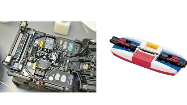 دستگاه فیوژن و دستگاه اتصال مکانیکی