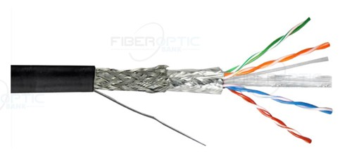 SFTP یا shielded Foiled Twisted Pair