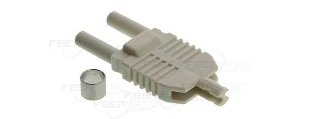 نمونه ای از کانکتور های مختص کابل های فیبر نوری پلاستیکی